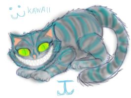 Cheshire cat by JudytaDragon