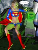 Supergirl Kryptonite trap p3 by orionsforge