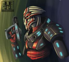 1D1A - Turian by Hedrick-CS