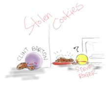 [doodles] Case1: THE stolen cookies by joker4msy