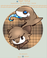 Journal Skin for Icon-Adopts by AbyssinChaos