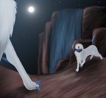 Absol by xMeganGracex