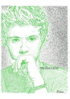 Niall Horan - Pointillism by MeikeZane