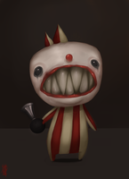 baby clown. by MentalParasite