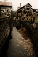 One golden river deep by C-Asepsis