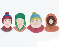South Park - Larger by Melkor-San