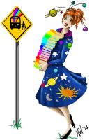 Miss Frizzle by Sugarsop