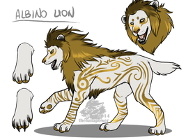Lion adoptable 1 _CLOSED_ by thelunapower