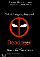 Deadpool Movie Poster by BobTheEgg