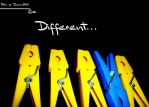 Be Different by filipegil