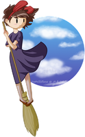 Inspirations: Kiki's Delivery Service by MissMellifluous