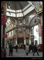 Leadenhall Market by jonpearse