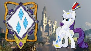 Wallpaper Knight Lady Rarity by Barrfind