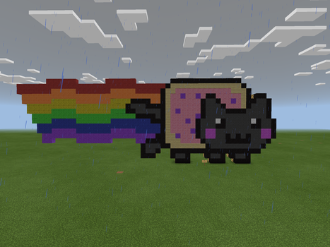 Nyan Cat by Charli-the-potato