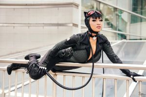 Catwoman I by EnchantedCupcake