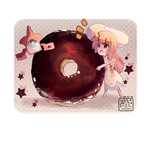 Lillie And Donut by Hippokampii