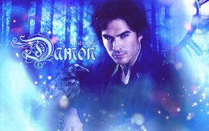 Damon Salvatore by JacobBlacksPrincess