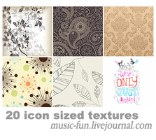 20 icon sized textures by iconmaker91