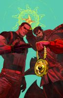 punisher, dr strange x run the jewels by m7781