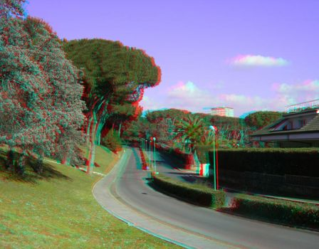 Rome 15 3D Anaglyph by yellowishhaze