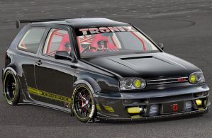 Golf GTI MKIII by TroniXDesign