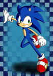 Sonic The Hedgehog by Flame-of-Icarus