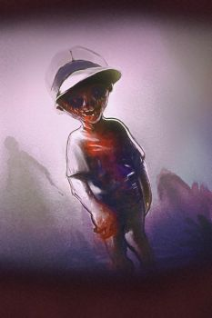 Spitpaint - Undeadkid by Obsti