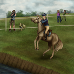OHHT 2014 - EAE Palnackie Princeling - ODE XC by ElreniaGreenleaf