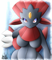 Weavile Anthro by Latiar027