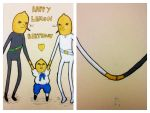 LemonGrab Birthday Card by Jesuka