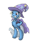 The Great And Powerful Trixie by alexmorgaen