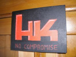 No Compromise by AlbertWesker1305