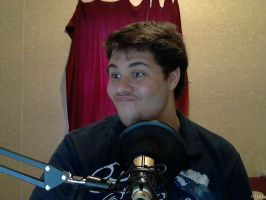 My Silly Face, At My Awesome Setup! by TheToxicDoctor