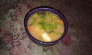 Miso Soup with Carrots and Potatoes! by ChiisaiKabocha17
