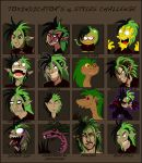 16 Styles Challenge Incisors by AstroZerk