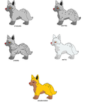 Poochyena Variations by XfangheartX