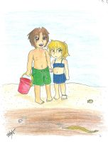 Cutsie beach scene by gr8brittyn-star
