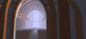 3D game Design, a few flicks from a church .2 by pilkingtoez