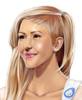 Ellie Goulding by super-badass