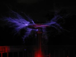 Tesla Coil Grad. Project - 2 by PlasmaFire3000