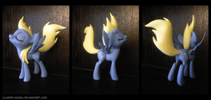 Bouncy Derpy 3D Printed Figure by Clawed-Nyasu