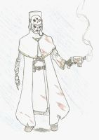 WH40k: Koschei Commissar for Taurus-ChaosLord by wightpower