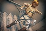 Armin Arlert Cosplay - Attack on Titan by Jrzil4shizzle