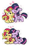 SunLight doodles by ponydreamdiary