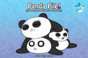 Panda Pile! by Silberry