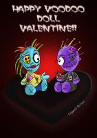 Voodoo Doll Valentine by IngwellRitter