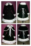 Winter lolita coat by NegraWaridi