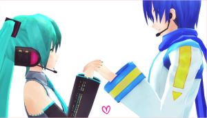 MMD - Always together by Ayumichigolove