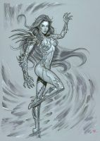 Witchblade by MichaelDooney