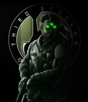 Sam Fisher - Eclipse - 3rd Echelon by Jazz117Volkov